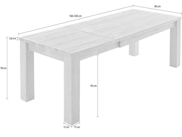 Stół dębowy rozkładany Blox Soolido Meble Wysokość 78 cm Ceramika Metal Kamień Drewno Pomieszczenie Stoły do kuchni