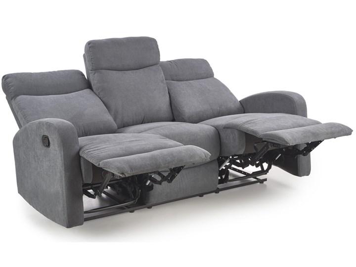 Sofa Oslo 3S Rozkładana Popielaty Głębokość 95 cm Modułowe Typ Gładkie