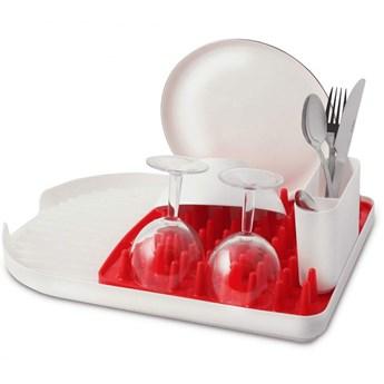 Ociekacz na naczynia Colori czerwony 23994 kod: 23994