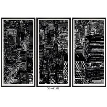Obraz trzyczęściowy Downtown Manhattan Tryptich 150x100 DE-FA12695 MINDTHEGAP DE-FA12695