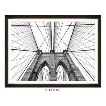 Obraz Brooklyn Bridge Detail 120x80 DE-FA11755 MINDTHEGAP DE-FA11755 | SPRAWDŹ RABAT W KOSZYKU !