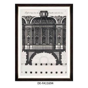 Obraz L`architecture francais by Marot I 60x80 DE-FA11694 MINDTHEGAP DE-FA11694 | SPRAWDŹ RABAT W KOSZYKU !