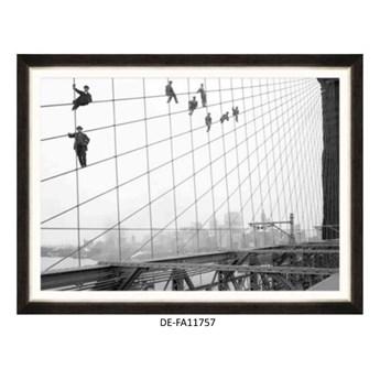Obraz Brooklyn Bridge Painters 120x80 DE-FA11757 MINDTHEGAP DE-FA11757 | SPRAWDŹ RABAT W KOSZYKU !