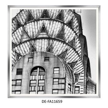 Obraz Chrysler Building Closeup 90x90 DE-FA11659 MINDTHEGAP DE-FA11659   SPRAWDŹ RABAT W KOSZYKU !