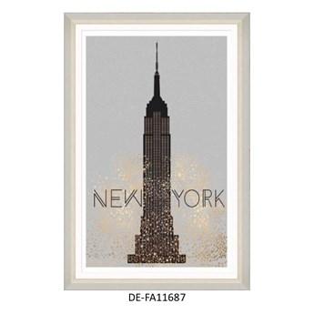 Obraz Golden New York 80x120 DE-FA11687 MINDTHEGAP DE-FA11687 | SPRAWDŹ RABAT W KOSZYKU !