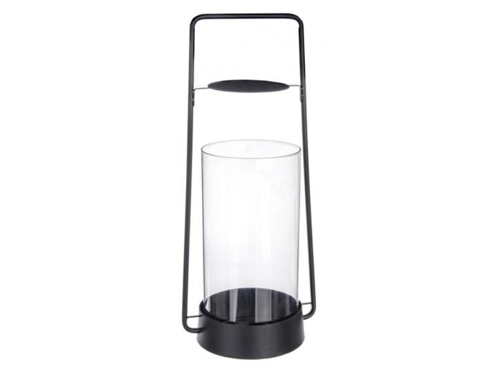 LATARNIA ZAIRA Metal Stal Szkło Lampion Kategoria Świeczniki i świece