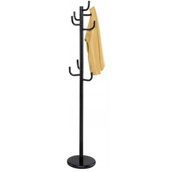 Wieszak stojący Wiktor 175cm- czarny