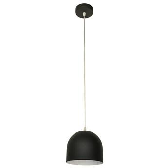 Pojedyncza lampa metalowa czarna MADISON W-KM 1801/1 BK+WT