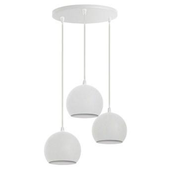 Biała lampa metalowa MARION W-KD 1802/3 WT