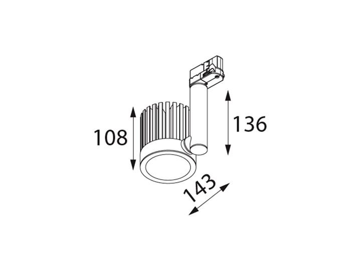 Oprawa natynkowa DELL na szynoprzewód DELL/TRACK/108 DEKOLUCE DELL/TRACK/108 DELL/TRACK/108/116 Oprawa stropowa Kategoria Oprawy oświetleniowe