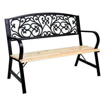 Ławka ogrodowa stalowo-żeliwna TITO