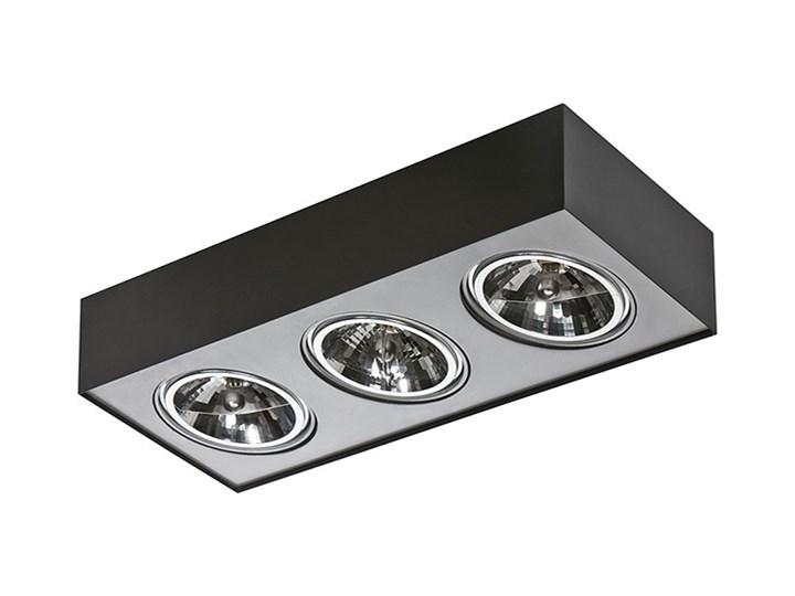 Paulo 3 230V Oprawa stropowa Prostokątne Kategoria Oprawy oświetleniowe Oprawa led Kolor Czarny