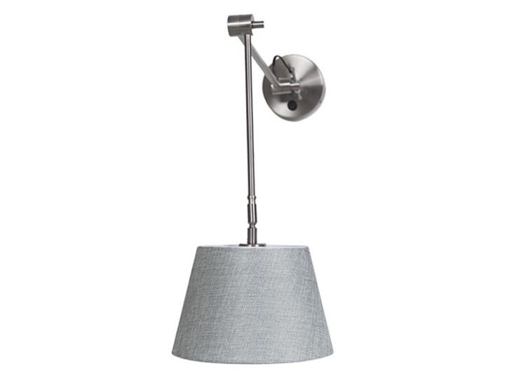 ADAM WALL S Kategoria Lampy ścienne  Kinkiet z regulacją Kinkiet LED Metal Kinkiet z kloszem Kolor Czarny