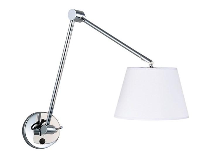 ADAM WALL S Kinkiet LED Kinkiet z regulacją Kategoria Lampy ścienne  Metal Kinkiet z kloszem Kolor Czarny