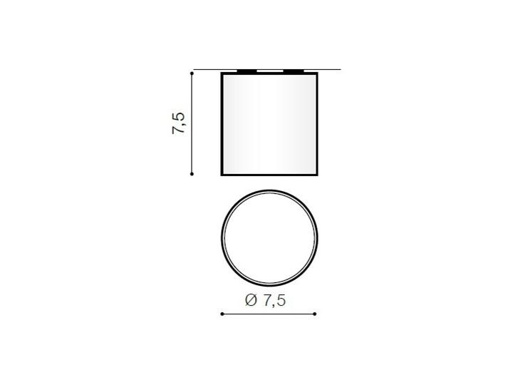 MATEO S White Kolor Biały Oprawa stropowa Okrągłe Oprawa led Kategoria Oprawy oświetleniowe