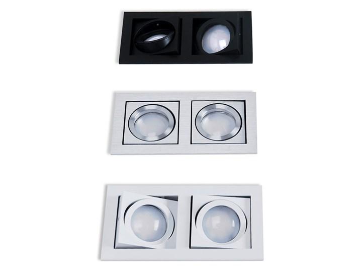 Paco 2 Oprawa stropowa Prostokątne Oprawa led Kategoria Oprawy oświetleniowe Kolor Czarny