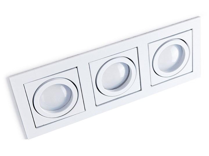 Paco 3 Oprawa stropowa Oprawa wpuszczana Kategoria Oprawy oświetleniowe Prostokątne Kolor Czarny