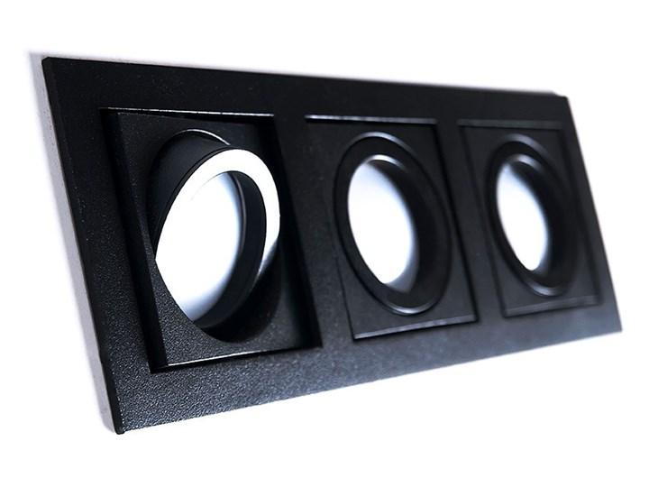 Paco 3 Prostokątne Oprawa wpuszczana Kategoria Oprawy oświetleniowe Oprawa stropowa Kolor Czarny