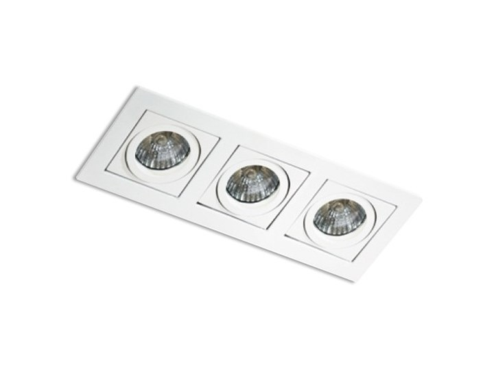 Paco 3 Oprawa wpuszczana Oprawa stropowa Prostokątne Kategoria Oprawy oświetleniowe Kolor Czarny