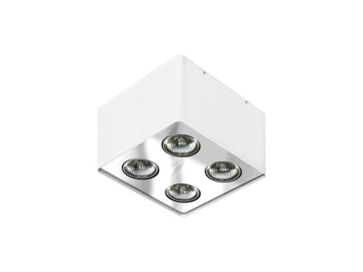 Lampa techniczna Nino 4 Kwadratowe Oprawa led Oprawa stropowa Kategoria Oprawy oświetleniowe