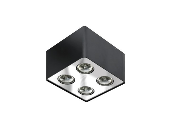 Lampa techniczna Nino 4 Kategoria Oprawy oświetleniowe Kwadratowe Oprawa stropowa Oprawa led Kolor Biały