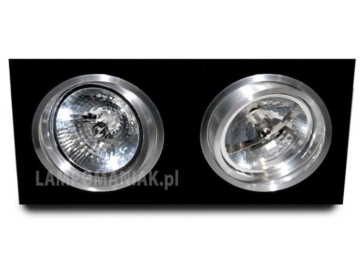 Siro 2 Oprawa wpuszczana Prostokątne Oprawa stropowa Kategoria Oprawy oświetleniowe Kolor Czarny