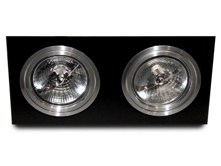 Siro 2 Prostokątne Oprawa wpuszczana Kategoria Oprawy oświetleniowe Oprawa stropowa Kolor Czarny