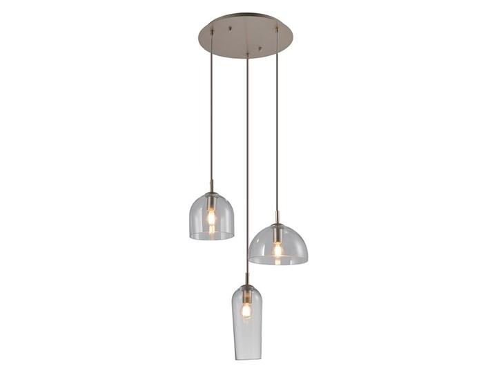 Blanca 3 Lampa LED Lampa z kloszem Ilość źródeł światła 3 źródła Szkło Metal Kolor Szary