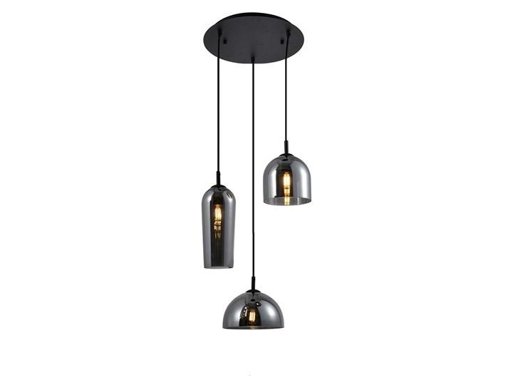 Blanca 3 Metal Szkło Lampa LED Kategoria Lampy wiszące Lampa z kloszem Kolor Szary