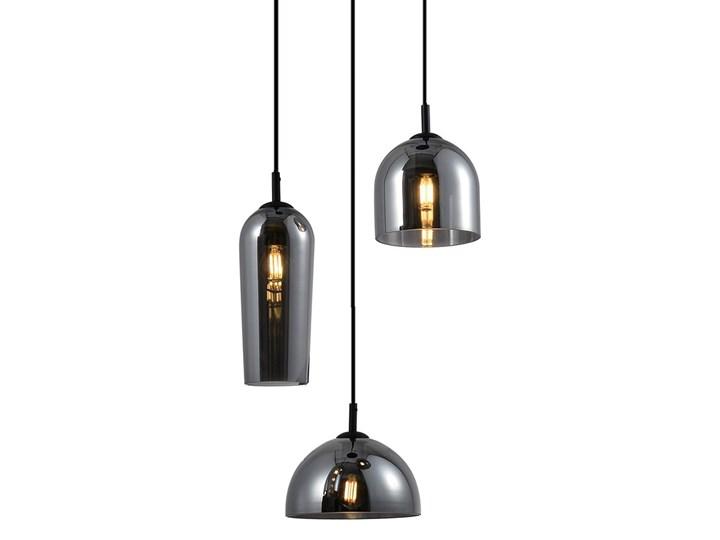 Blanca 3 Metal Lampa LED Lampa z kloszem Szkło Kolor Szary