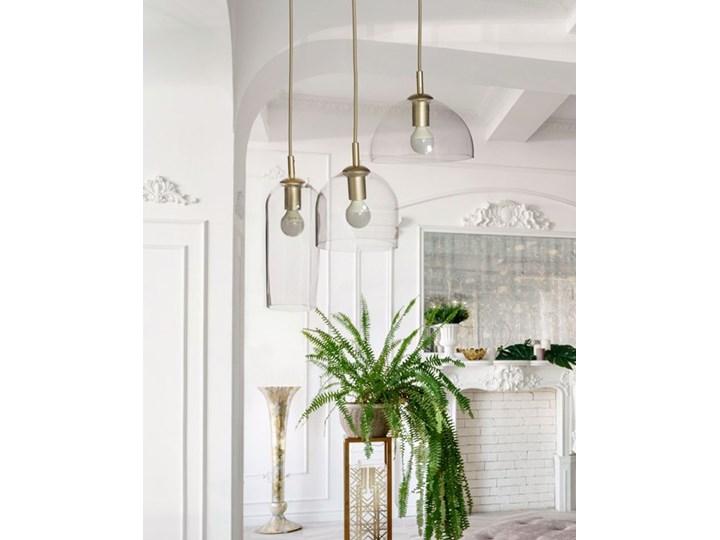 Blanca 3 Lampa LED Lampa z kloszem Szkło Metal Kolor Szary