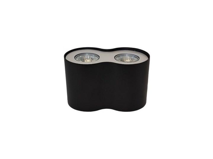 Lampa natynkowa Neos 2 Oprawa stropowa Kategoria Oprawy oświetleniowe Oprawa halogenowa Nieregularne Kolor Czarny