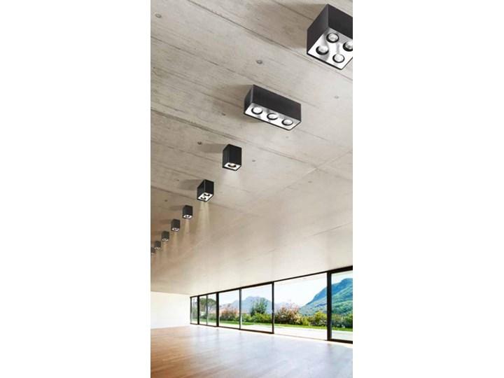 Lampa techniczna Nino 4 Kwadratowe Kategoria Oprawy oświetleniowe Oprawa stropowa Oprawa led Kolor Biały
