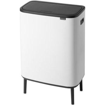 Kosz na śmieci BRABANTIA 130601 Bo Touch Bin Hi 2x30L Biały