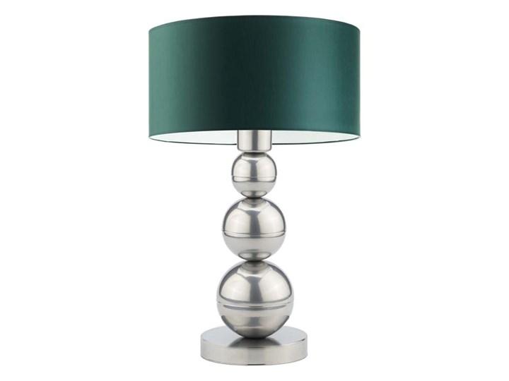 Lampka stołowa HONOLULU WYSYŁKA 24H Kolor Turkusowy Lampa nocna Lampa z abażurem Wysokość 41 cm Wysokość 15 cm Styl Nowoczesny