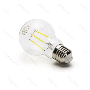 Żarówka LED FILAMENT A60 E27 6W  zimna 6500K