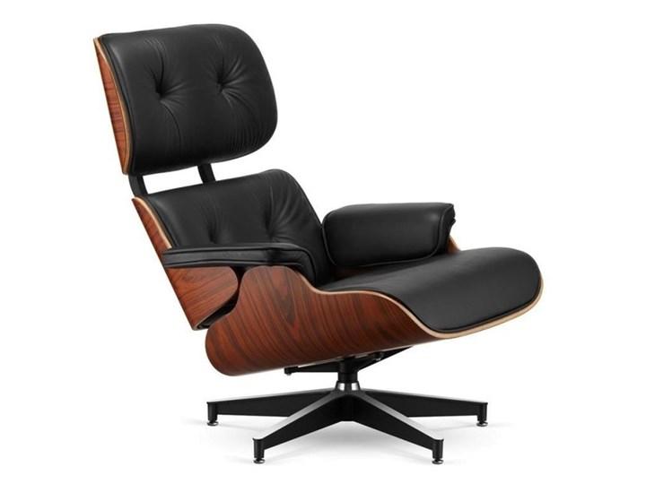 Fotel Tokyo czarna skóra/ wiśnia Styl Nowoczesny Głębokość 53 cm Wysokość 88 cm Fotel tradycyjny Fotel inspirowany Kolor Czarny