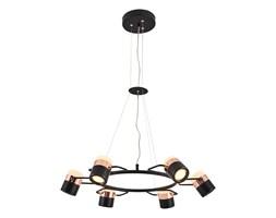 Lampa wisząca nowoczesna ozcan kuchnia  jadalnia salon sypialnia 5024 - 6A czarna