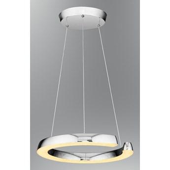 Ledowa lampa wisząca ozcan 5621-1a srebro ledowy zwis 30w