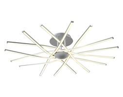 Nowoczesna srebrna lampa sufitowa plafon  led 144w  ozcan salon sypialnia jadalnia 5642-2 lampa lampa