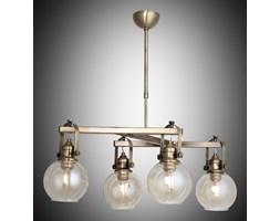 Nowoczesna patynowa industrialna lampa żyrandol loft  lucea ponte 1396-52-14  salon sypialnia jadalnia
