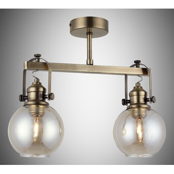 Nowoczesna patynowa industrialna lampa sufitowa loft  lucea ponte 1396-52-42  salon sypialnia jadalnia