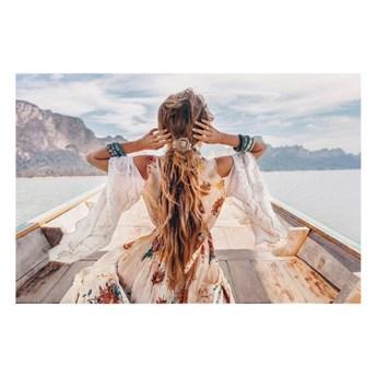 Obraz Canvas Freedom Girl 85 x 113 cm