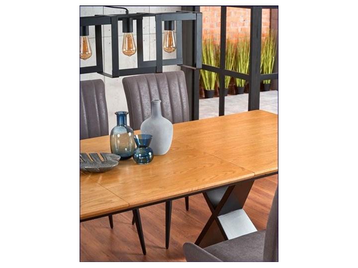 Loftowy stół rozkładany Eden - dąb naturalny Długość 220 cm Drewno Szerokość 90 cm Wysokość 75 cm Długość 90 cm  Styl Minimalistyczny