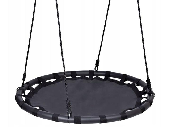 Huśtawka ogrodowa bocianie gniazdo MIKI czarna Pianka Metal Kategoria Huśtawki dla dzieci