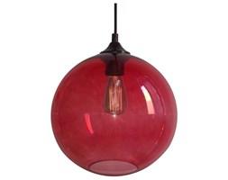 EDISON LAMPA WISZĄCA 25 1X60W E27 CZERWONY + ŻARÓWKA