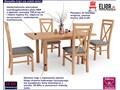stół rozkładany rafael - dąb kraft Drewno Rozkładanie Rozkładanie Rozkładane