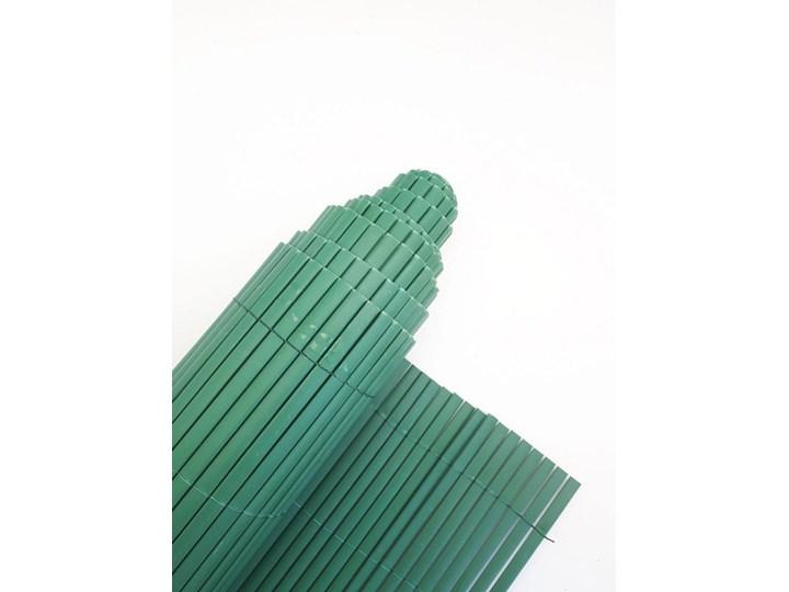 Płotek ogrodowy PCV zielony 100x300 cm