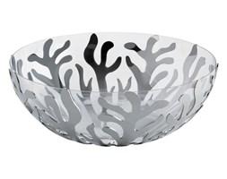 Miska z wewnętrzną salaterką  Alessi Mediterraneo mała srebrna
