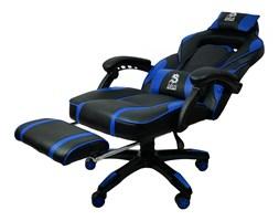 Fotel Gamingowy obrotowy dla graczy DEUS LARGE Blue